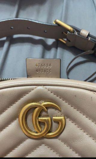 Preciosa Riñonera Gucci , casi nueva