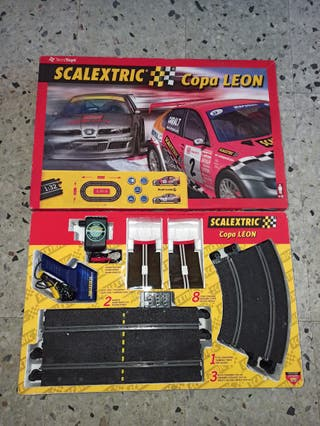 Scalextric Copa León sin coches