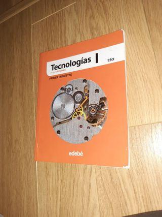 Libro de tecnología de 1ESO editorial EDEBÉ