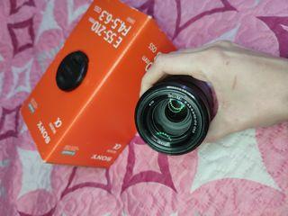 Objetivo Sony E55-210mm