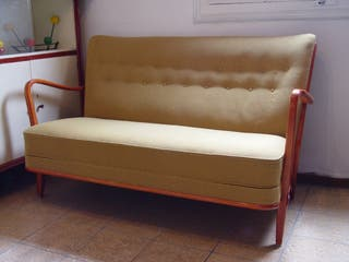 Sofá Vintage estilo Slagelse danés,