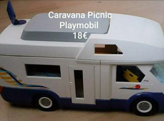 Autocaravana Playmobil Mod. 4859