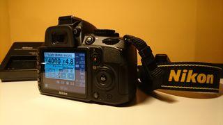Nikon D3100+18-55 (sólo 3000 disparos!!)