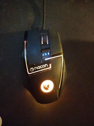 Ratón Láser Gaming Mouse PC NACON GM-350L