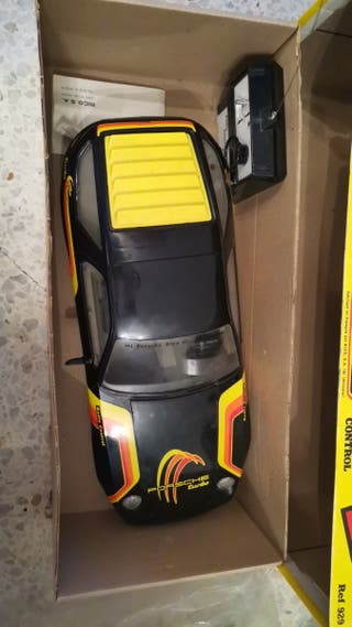 Porsche turbo rico radio control antiguo