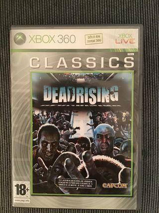 Deadrising juego de Xbox360