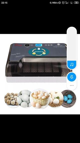 incubadora automática nueva