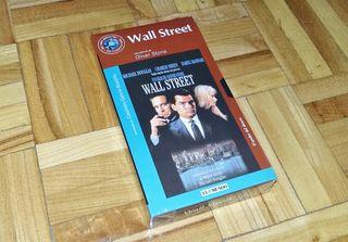 PELICULA WALL STREET 1987 VHS PRECINTADA NUEVA