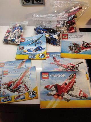 lego creator avion aviones 3 sets