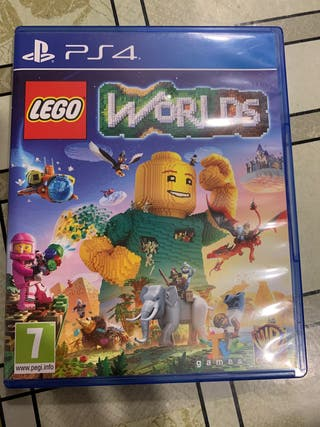 Juego PS4: Lego Worlds