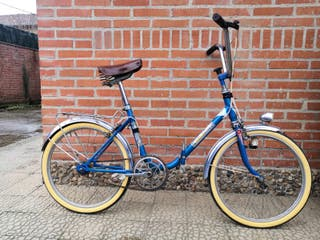 Bicicleta antigua Torrot plegable