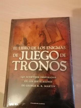 Libro el enigma de juego de tronos a estrenar