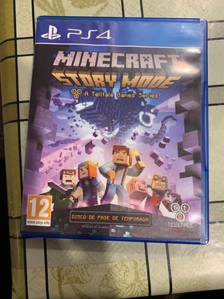 Juego PS4: Minecraft Story Mode