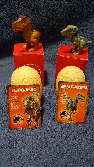 2 Dinosaurios McDonalds Happy