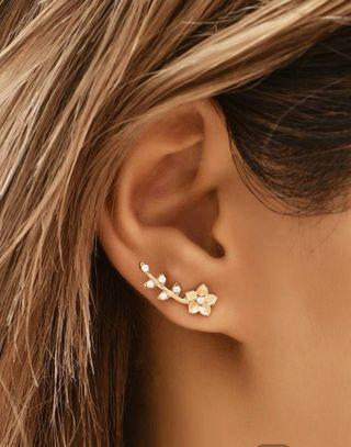 Pendientes De Tachuela Con Diamante De Imitación