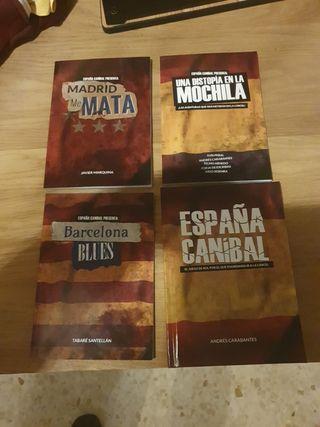 Pack España Caníbal. Rol.