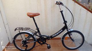 bicicleta moma plegable NUEVA