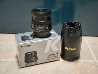 Objetivo Pentax 77mm f/1.8