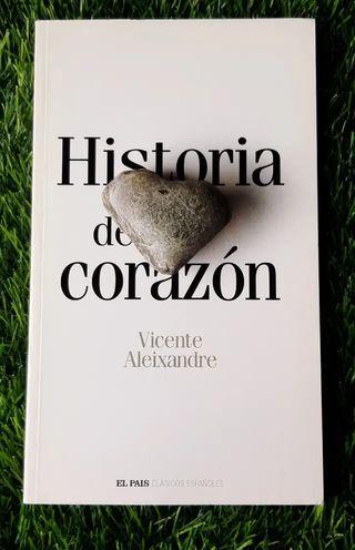 LIBRO HISTORIA DE CORAZON DE VICENTE ALEIXANDRE
