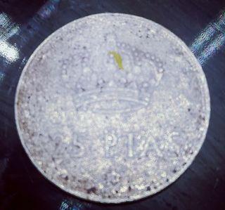 Moneda de 25 pesetas de 1975