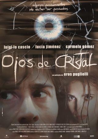 PÓSTER OJOS DE CRISTAL