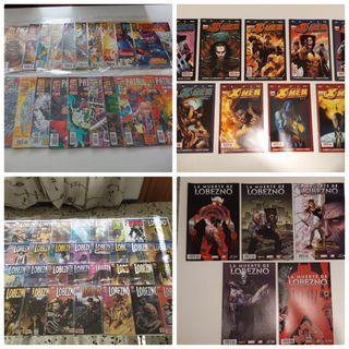 Lote cómics Lobezno y Patrulla-X