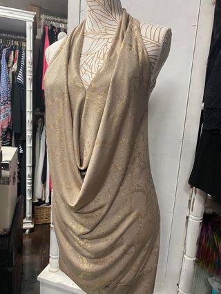 Vestido oro de MissMiss By Valentino