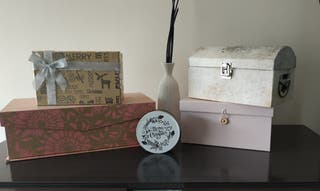 4 cajas la pequeña de regalo