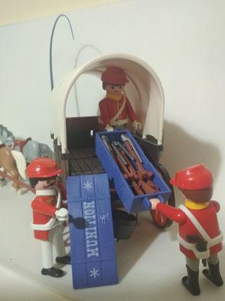 Playmobil caravana confederado
