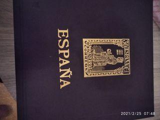 Album de sellos olegario de 2 tornillos