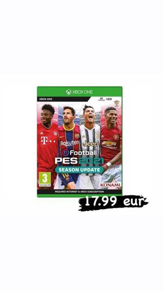 Videojuego eFootball PES 2021 Xbox One