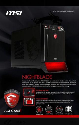 MSI Nightblade b85c-043xeu