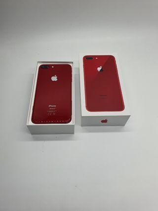 IPHONE 8 PLUS 64GB ROJO