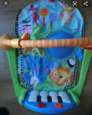 ginnasio bebe fisher-price piano