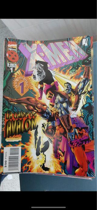 X Men la caída de Avalon