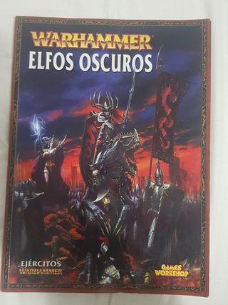 codex elfos oscuros, warhammer, ejército, séptima