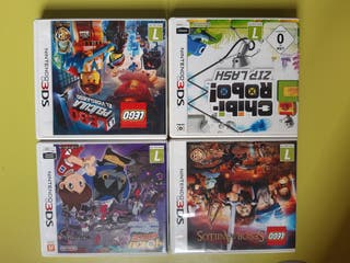 lote Nintendo 3DS