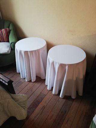 2 Mesas camillas