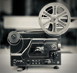 Proyector de Cine Súper 8 Yelco Sound