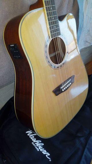Guitarra electro-ascústica Washburn