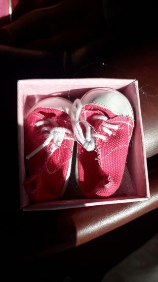 zapatillas nancy +dos bolsitos