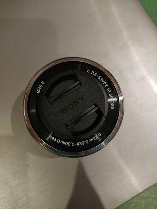 Objetivo cámara para Sony E 16 - 50