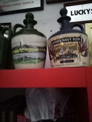 Botellas de porcelana de Whisky
