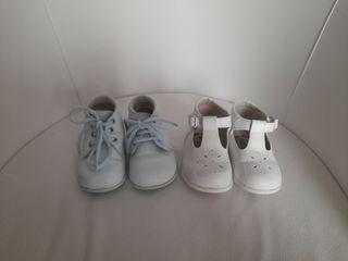 Zapatos y Botas de piel bebé niño