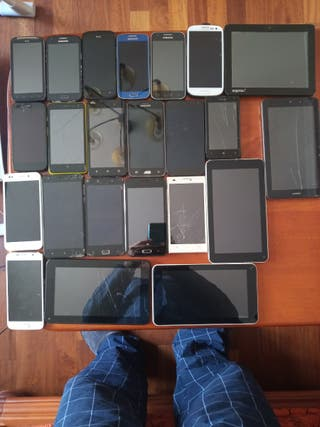 GRAN LOTE 5 tablets,19 moviles y 1 marco digital