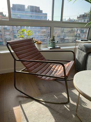 Butaca sillón piel diseño