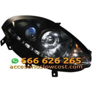 FAROS CON LUZ DIURNA LED PARA FIAT BRAVO 07- , COL