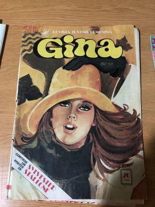 Revista Gina de colección coleccionista