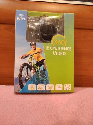 cámara 360° experiencie video