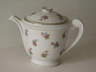 Tetera, cafetera porcelana Limoges